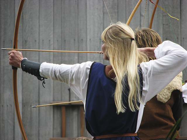 8th open Archeon Longbow shoot by Hans Splinter on Flickr (cc)